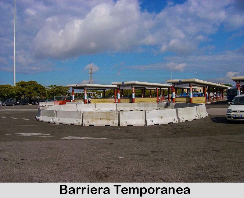 Barriera temporanea