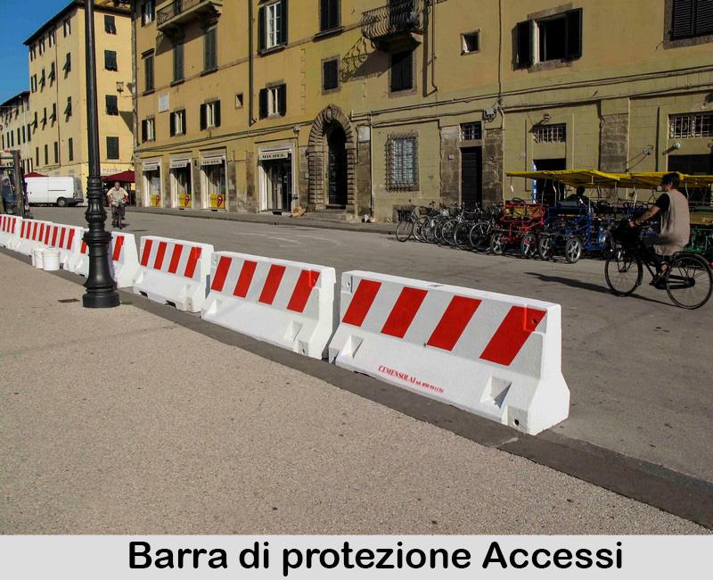 Barriere di protezione accessi