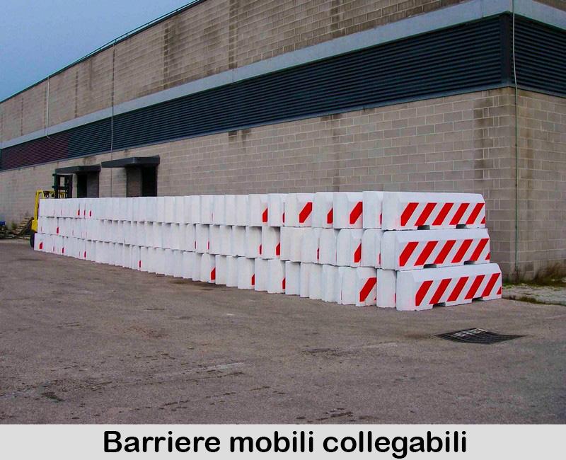 Barriere mobili collegabili
